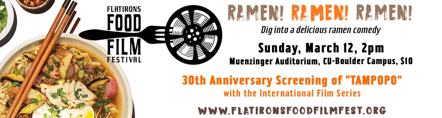 Festival screening of ramen comedy TAMPOPO