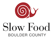 Slow Food Boulder County logo