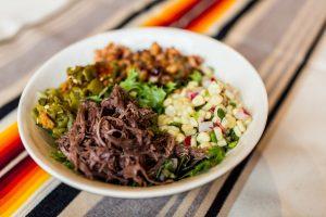 Tocabe bison wild rice bowl